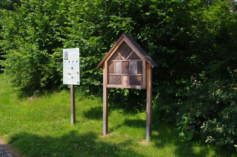 Gartenverein Fritz Husemann Insektenhotel
