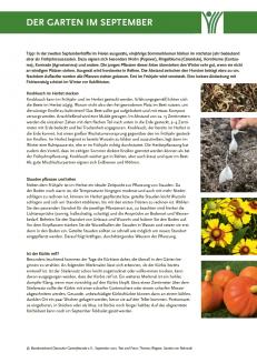 Der Garten im September PDF